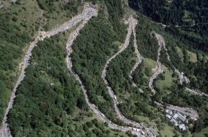 Les 21 virages de l'Alpe d'Huez