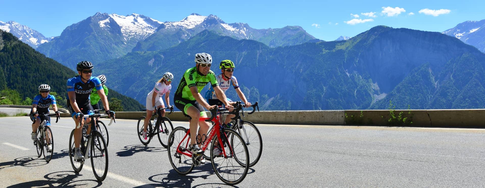 Montée de l'Alpe d'Huez à vélo